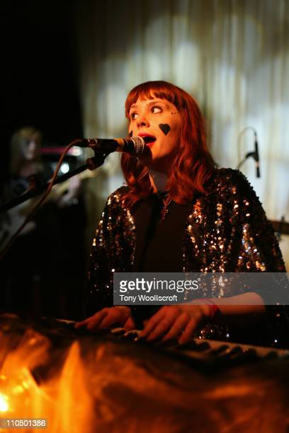 Kate Nash performs at the Sugarmill on March 20, 2011 in Stoke on Trent, England.