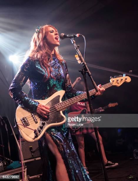 Kate Nash performs at The Village Underground on February 20 2017 in London United Kingdom