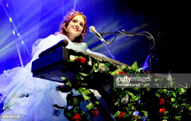 Kate Nash performs live on stage at The O2 Ritz Manchester on August 4 2017 in Manchester England