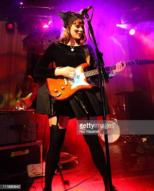Kate Nash performs on stage at Stanley Theatre on April 5 2011 in Liverpool United Kingdom