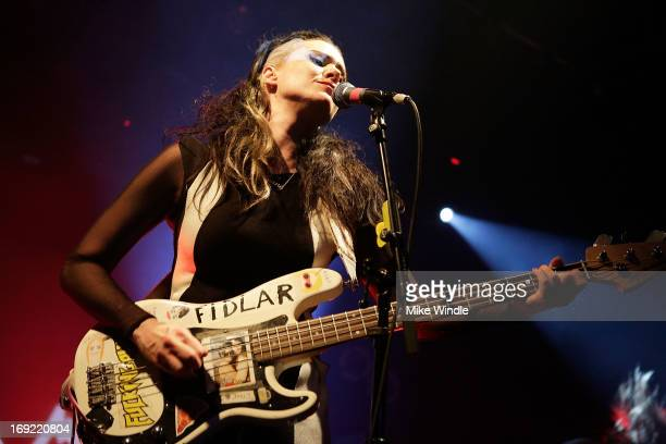 Kate Nash performs on stage at The Echoplex on May 21 2013 in Los Angeles California