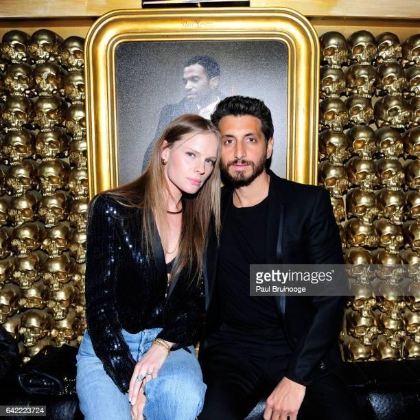 Kate Nauta and Robert McKinley attend Goldbar The First Decade at Goldbar on February 16 2017 in New York City