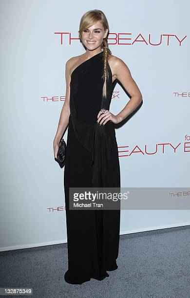 Kate Nauta arrives at the launch of the Beauty Book for Brain Cancer held at Grauman's Chinese Theatre on November 14 2011 in Hollywood California