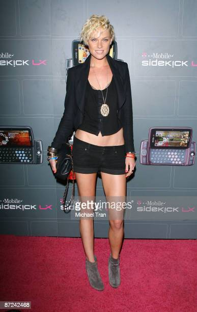 Kate Nauta arrives to the TMobile Sidekick LX Launch party held at Paramount Studios on May 14 2009 in Hollywood California