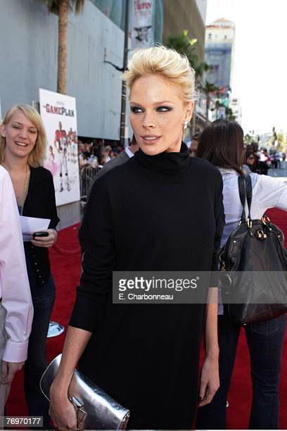 Kate Nauta at the World Premiere of Walt Disney Pictures' The Game Plan at the El Capitan Theatre on September 23 2007 in Hollywood California