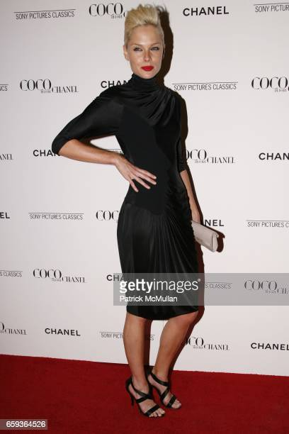 Kate Nauta attends CHANEL hosts the New York premier ofSony Pictures ClassicsCOCO BEFORE CHANEL at Paris Theatre on September 15 2009 in New York City