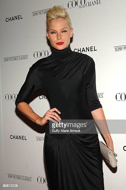 """Kate Nauta attends the """"Coco Before Chanel"""" New York Premiere at the Paris Theatre on September 15, 2009 in New York City."""
