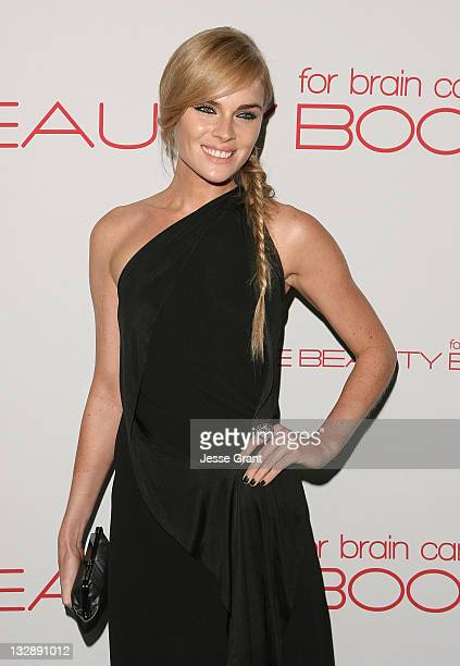 Kate Nauta attends the launch of 'The Beauty Book For Brain Cancer' at Grauman's Chinese Theatre on November 14 2011 in Hollywood California