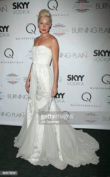 Kate Nauta attends the premiere of The Burning Plain at Landmark's Sunshine Cinema on September 16 2009 in New York City