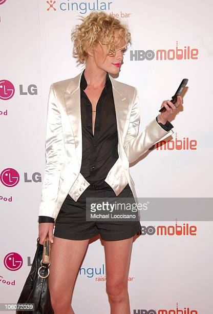 Kate Nauta during Launch of HBO Mobile May 31 2005 at Mr Chow Tribeca in New York City New York United States
