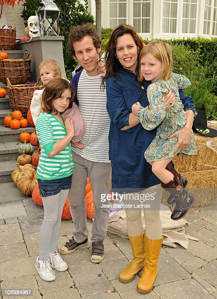 Kate Netto Goldie Priya Lee Ben Lee and Ione Skye attend the Pottery Barn Kids' Halloween Carnival benefitting Operation Smile at a private residence...