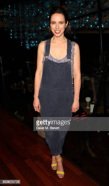 """Kate O'Flynn arrives at the afterparty at DSTRKT following the press night performance of """"The Glass Menagerie"""" at The Duke Of York Theatre on..."""