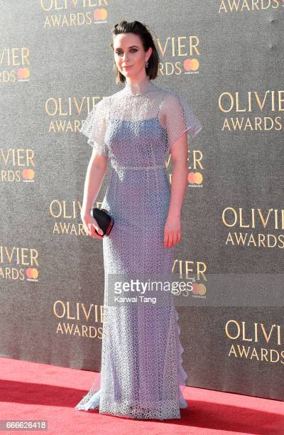 Kate O'Flynn arrives for The Olivier Awards 2017 at the Royal Albert Hall on April 9 2017 in London England