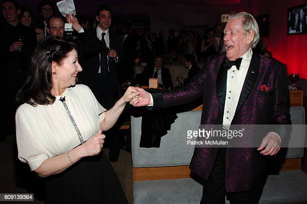 Kate O'Toole and Peter O'Toole attend VANITY FAIR Oscar Party at Morton's on February 25 2007 in Los Angeles CA