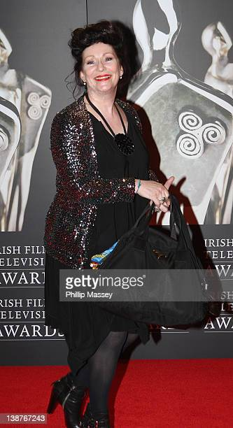 Kate O'Toole arrives at Annual Irish Film Television Awards at Convention Centre Dublin on February 11 2012 in Dublin Ireland