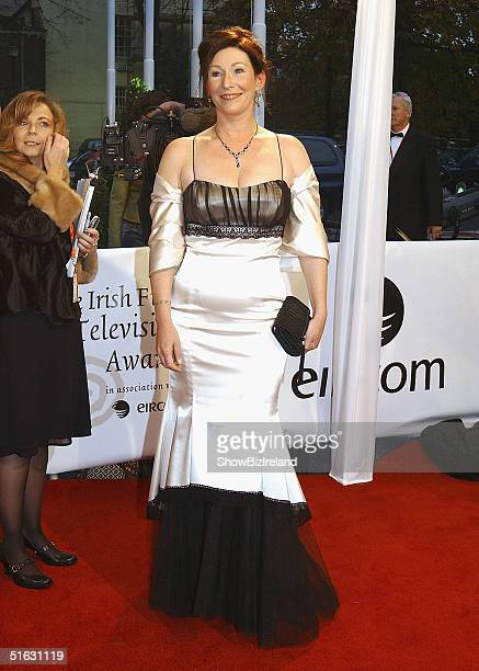 Kate O'Toole Daughter of Actor Peter O'Toole arrives for the The Irish Film and Television Awards at the Burlington Hotel on October 30 2004 in...