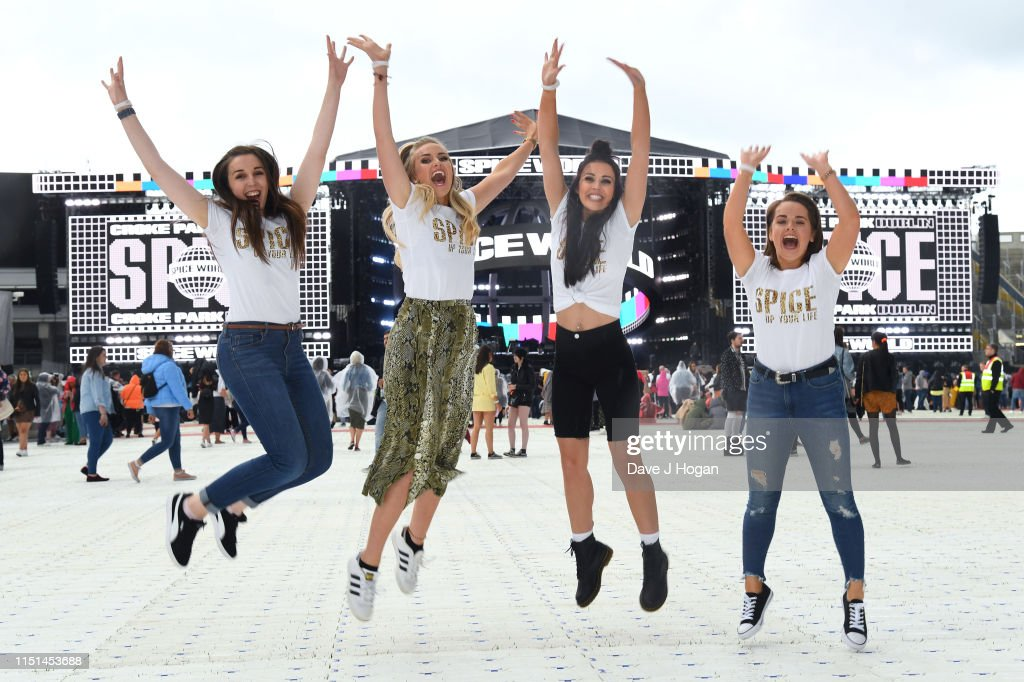 IRL: The Spice Girls Perform At Croke Park - Tour Opener