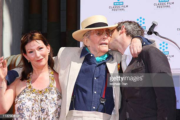 Kate O'Toole Peter O'Toole and Lorcan O'Toole attend the TCM Classic Film Festival honors Actor Peter O'Toole with hand and foot ceremony held at...