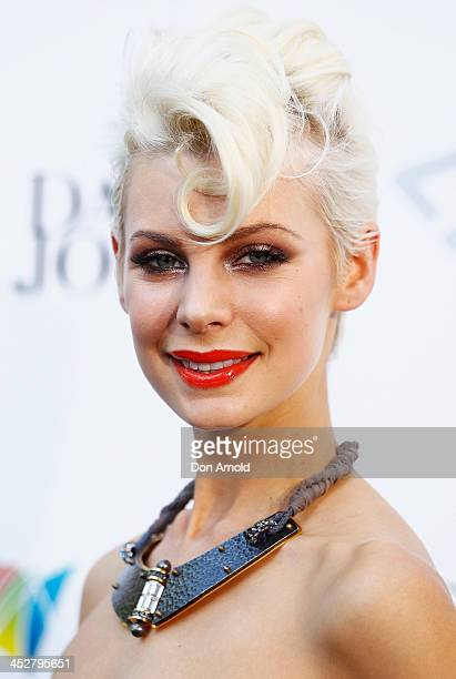 Kate Peck arrives at the 27th Annual ARIA Awards 2013 at the Star on December 1 2013 in Sydney Australia