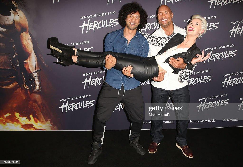 """""""HERCULES"""" Fan Screening - Arrivals"""