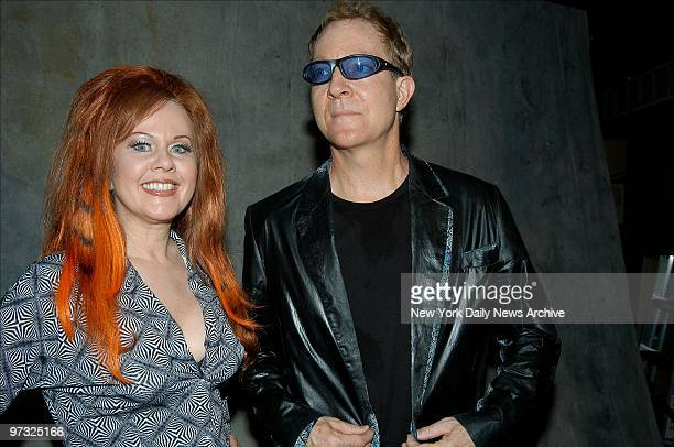 Kate Pierson and Fred Schneider of the B 52's are on hand for the 2002 Jammy Awards the annual celebration of jamband rock at Roseland