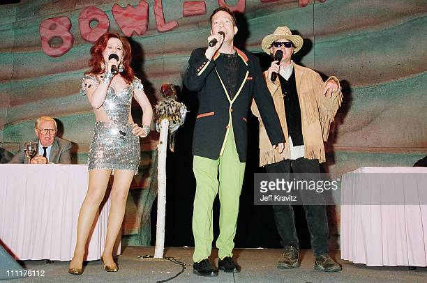 Kate Pierson, Fred Schenider and Keith Strickland of The B52's