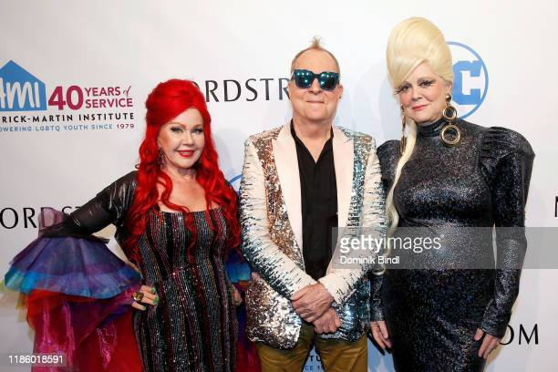 Kate Pierson, Fred Schneider and Cindy Wilson attend the 2019 Emery Awards at Cipriani Wall Street on November 06, 2019 in New York City.