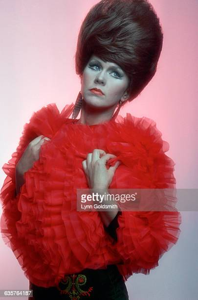 Kate Pierson, singer and musician for the new wave group the B-52s, poses for a picture.