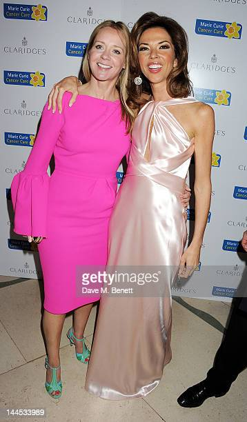 Kate Reardon and Heather Kerzner attend the Marie Curie Cancer Fundraiser hosted by Heather Kerzner at Claridge's Hotel on May 15 2012 in London...