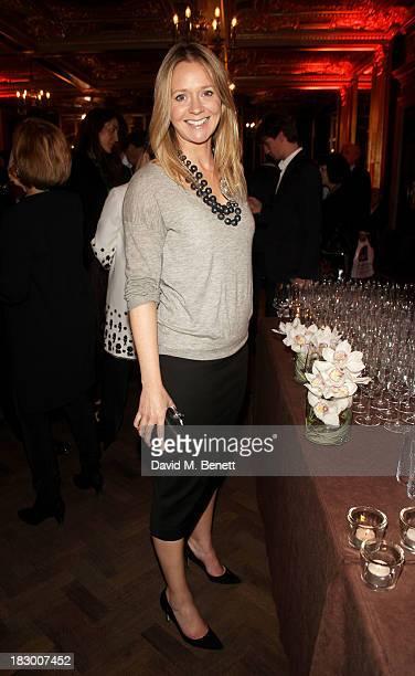 Kate Reardon attends the launch of Geordie Greig's new book Breakfast With Lucian on October 3 2013 in London England