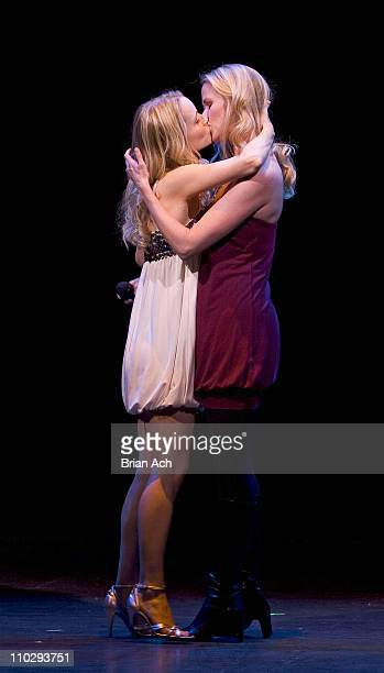 Kate Reinders and Lauren Kennedy during 'Broadway Backwards' to Benefit the Lesbian Gay Bisexual and Transgender Community Center at 37 Arts in New...