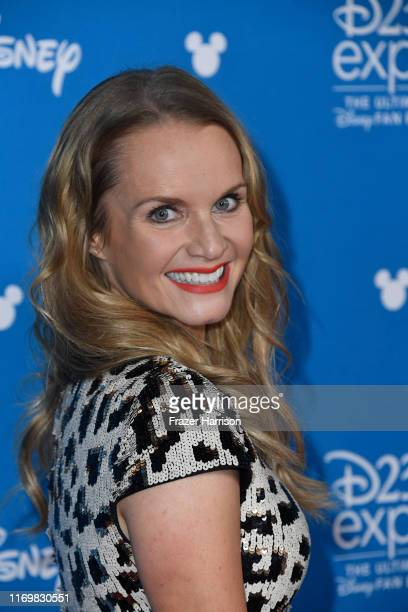 Kate Reinders attends D23 Disney event at Anaheim Convention Center on August 23 2019 in Anaheim California