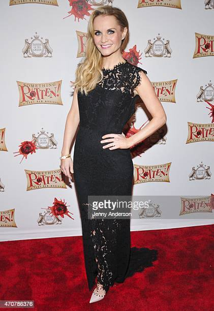 Kate Reinders attends Something Rotten Broadway Opening Night at Tavern On The Green on April 22 2015 in New York City