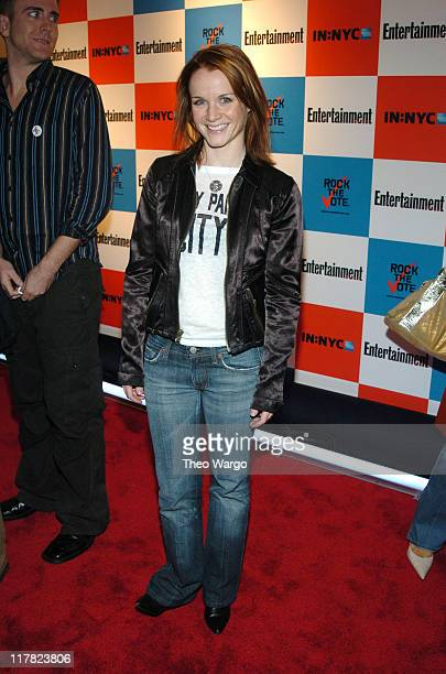 Kate Reinders during Listen2This Entertainment Weekly and Rock The Vote Host PreElection Bash at Ruby Falls in New York City New York United States