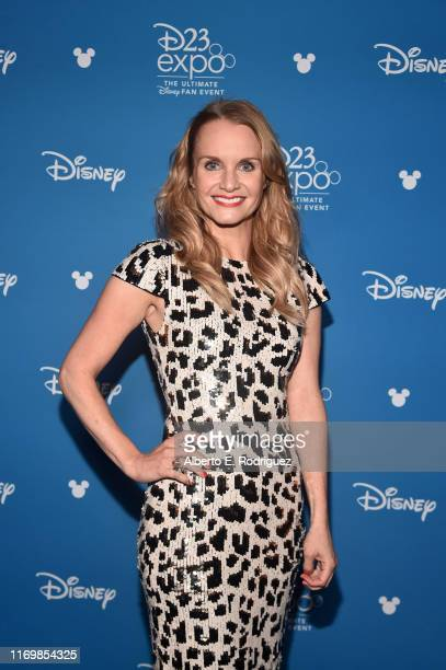 Kate Reinders of 'High School Musical The Musical The Series' took part today in the Disney Showcase at Disney's D23 EXPO 2019 in Anaheim Calif 'High...