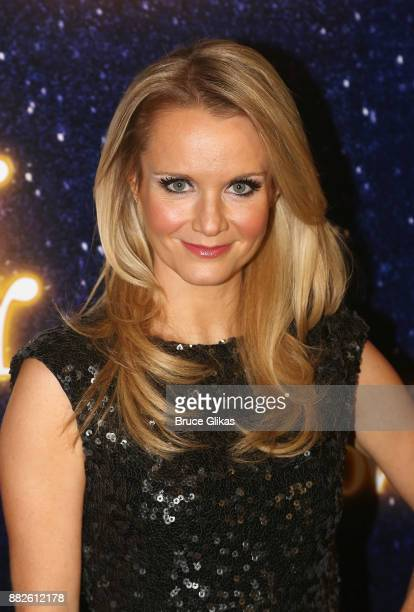 Kate Reinders poses at the opening night of Steve Martin's new play Meteor Shower on Broadway at The Booth Theatre on November 29 2017 in New York...