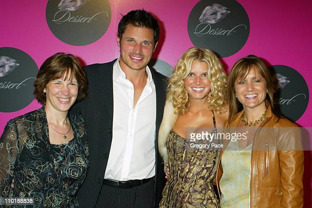 Kate Reiner, son Nick Lachey, Jessica Simpson and mother Tina Simpson