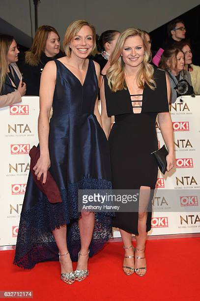 Kate RichardsonWalsh and Hollie Webb attend the National Television Awards on January 25 2017 in London United Kingdom