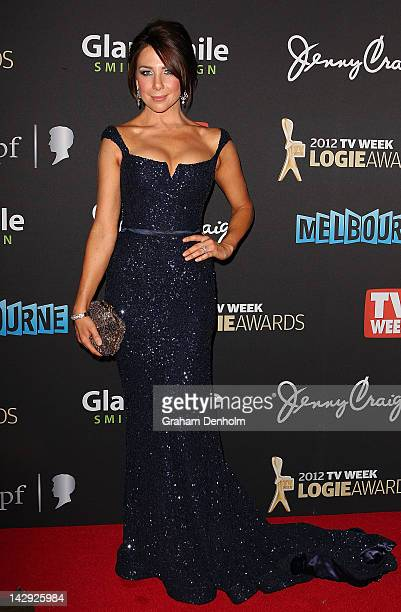 Kate Richie arrives at the 2012 Logie Awards at the Crown Palladium on April 15 2012 in Melbourne Australia