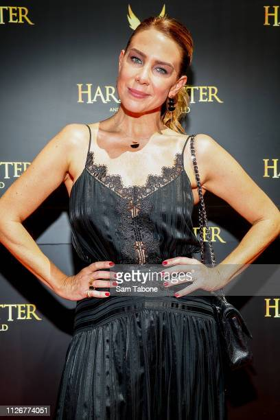 Kate Richie attends the red carpet gala of Harry Potter and the Cursed Child at Princess Theatre on February 23, 2019 in Melbourne, Australia.