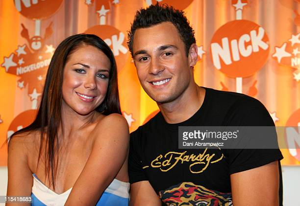 Kate Ritchie and Jake Wall during Nickelodeon Australian Kids' Choice Awards 2006 - Media Room at Sydney Entertainment Centre in Sydney, NSW,...