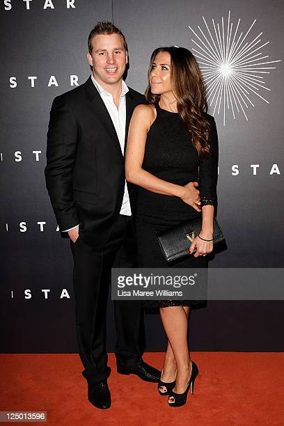 """Kate Ritchie and Stuart Webb arrive at the opening of """"The Star"""", formerly Star City in Pyrmont on September 15, 2011 in Sydney, Australia. The..."""