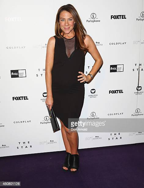 Kate Ritchie arrives at MAX Sessions Coldplay at The Star Event Centre on June 18 2014 in Sydney Australia