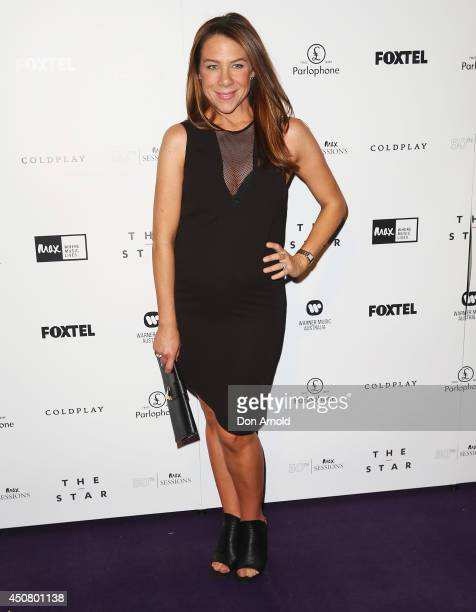 Kate Ritchie arrives at MAX Sessions: Coldplay at The Star Event Centre on June 18, 2014 in Sydney, Australia.