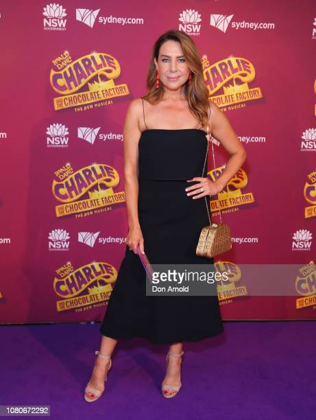 Kate Ritchie arrives at opening night of Charlie And The Chocolate Factory at Capitol Theatre on January 11 2019 in Sydney Australia