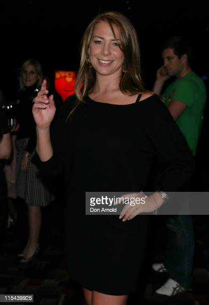 Kate Ritchie arrives for the Stand Up in 08 comedy night at The Factory on July 3 2008 in Sydney Australia
