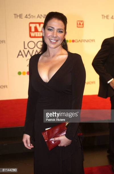 Kate Ritchie arriving on the red carpet for the 45th Annual TV Week Logie Awards 2003 held at the Crown Casino Melbourne Australia