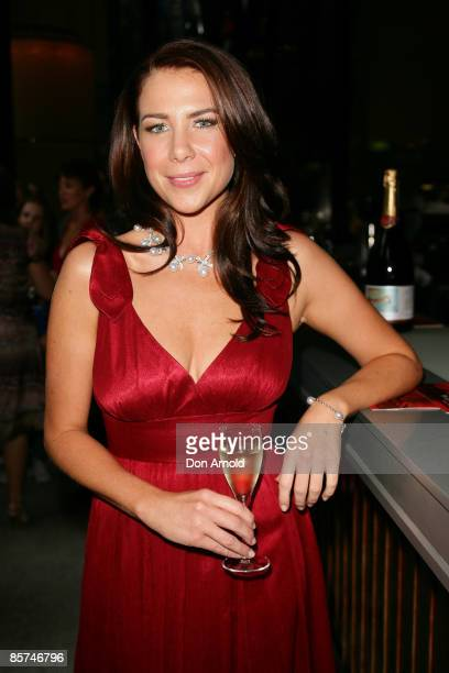 Kate Ritchie attends the Chandon Supper Club dinner at the Hilton Hotel on April 1 2009 in Sydney Australia