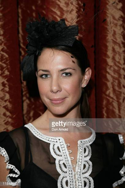 Kate Ritchie attends the Kate Waterhouse Melbourne Cup Party at the Zeta Bar at The Hilton Hotel on November 6 2007 in Sydney Australia