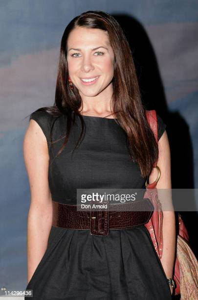 Kate Ritchie during Cirque du Soleil's 'Varekai' Sydney Opening Night Arrivals at The Entertainment Quarter Fox Studios in Sydney NSW Australia